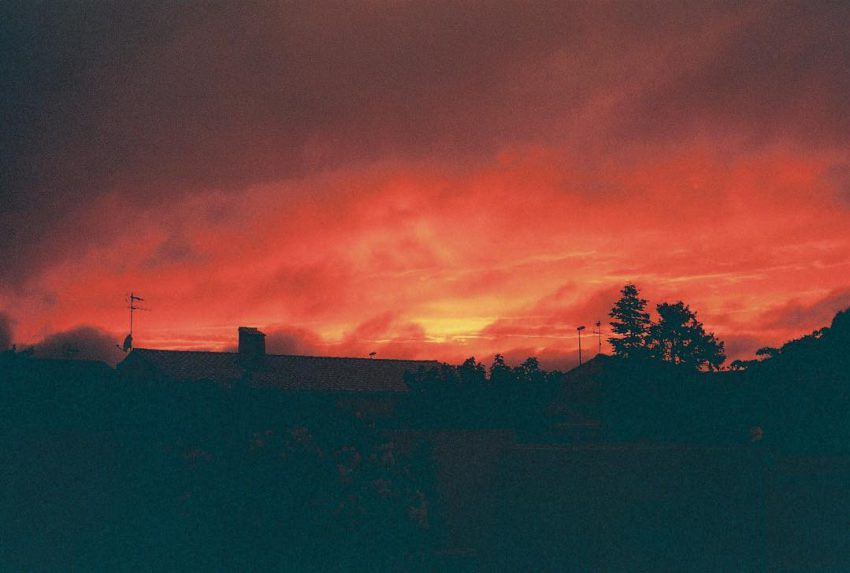 #sunset #nofilter #analog #photography #trip35 #filmisnotdead #france