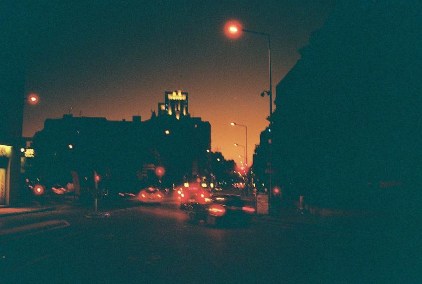 """Osbriété""  #night #urban #street #analog #filmisnotdead #nophotoshop #35mm #filmphotographic"