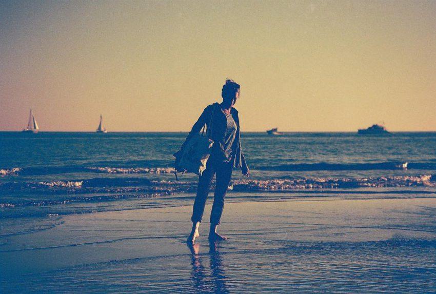 """Bleu Méditerranéen""  #analog #35mm #filmisnotdead #autumnbeach #sea #nophotoshop #nofilter #filmphotographic"