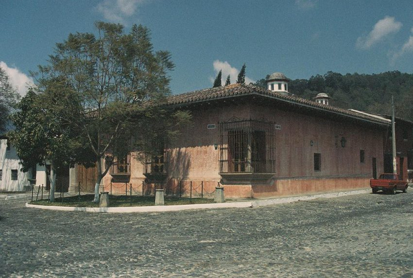 A beautiful house in Antigua. (Sorry for the low quality, it appears the films were altered by the X-Rays