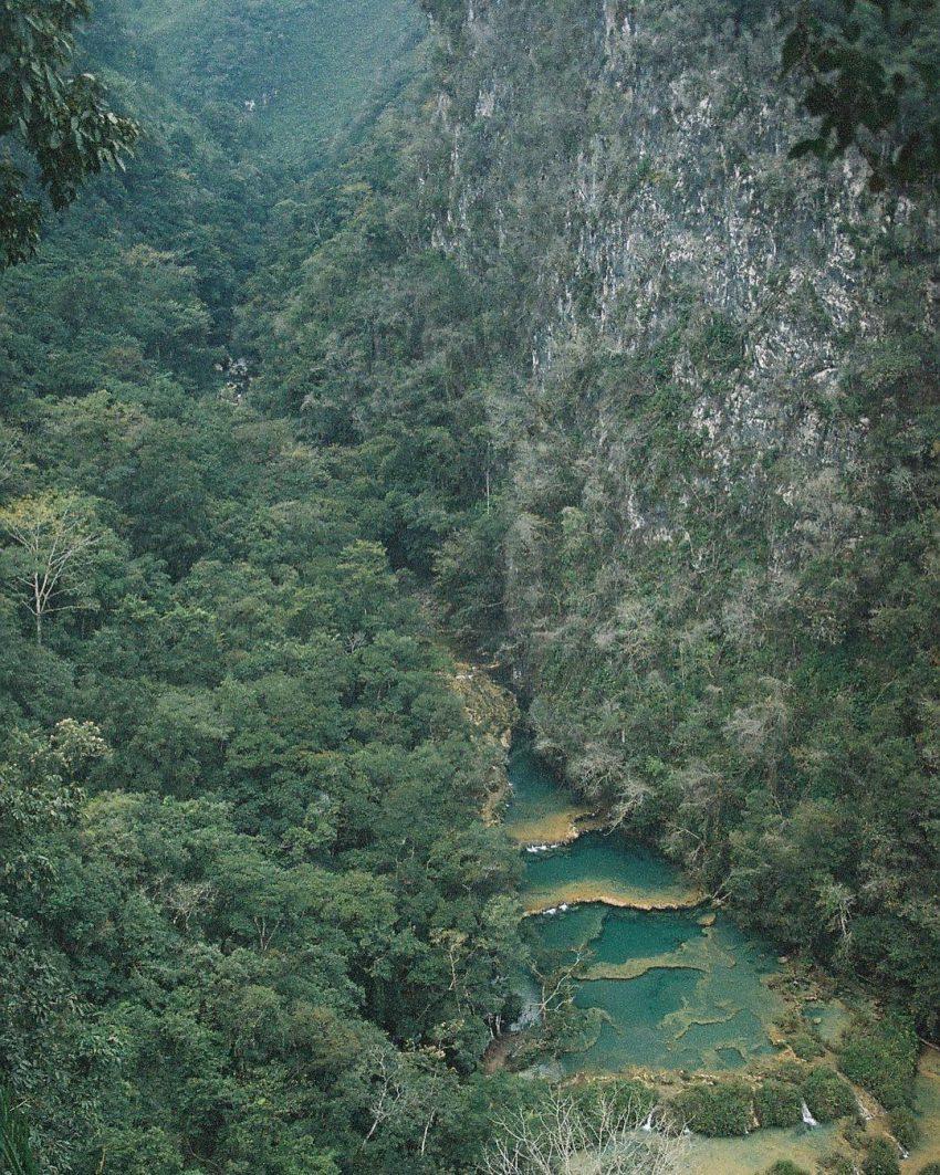 Natural pools of Semuc Champey