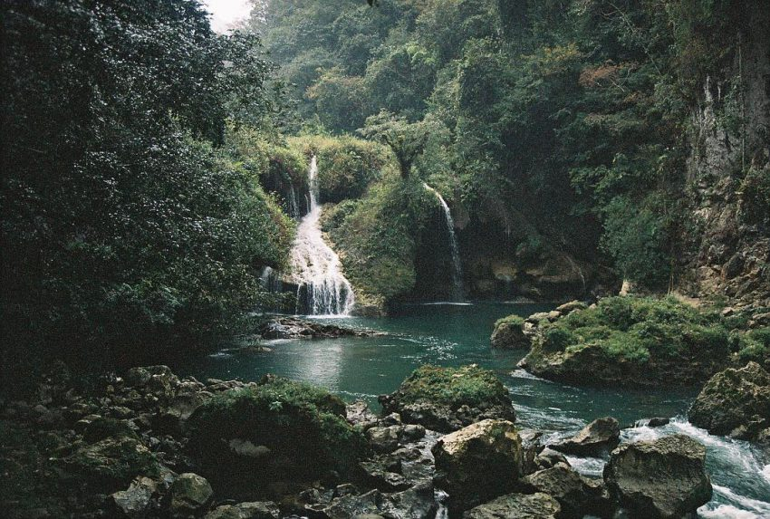 Waterfall of Semuc champey