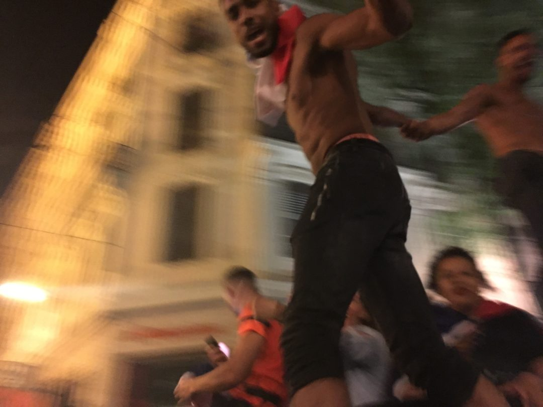 World Cup Celebration in Lyon