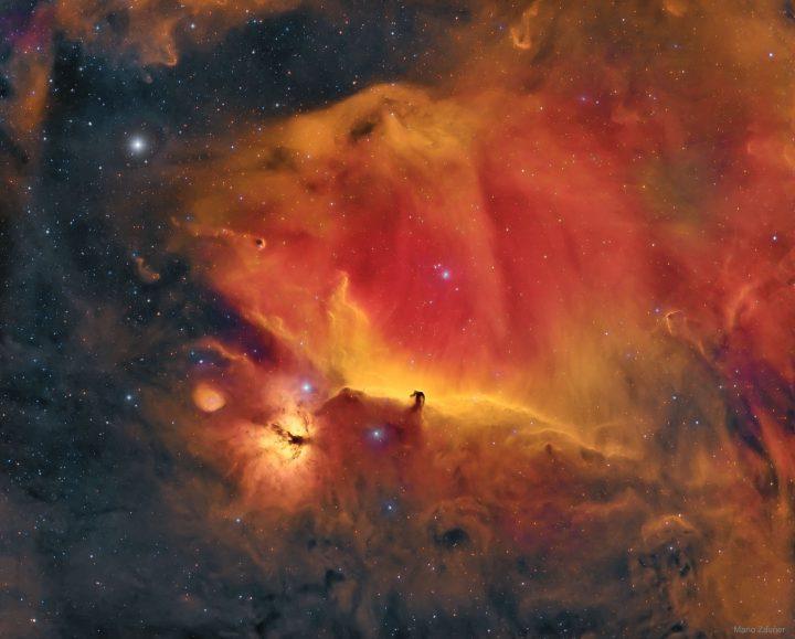 Wisps Surrounding the Horsehead Nebula.Image Credit & Copyright: Mario Zauner